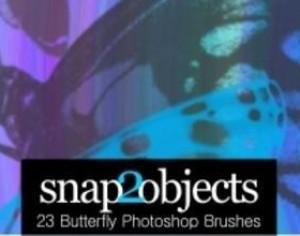23 Free Butterfly Photoshop Brushes Photoshop brush