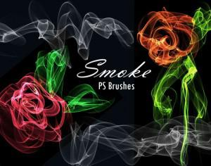 20 Smoke PS Brushes abr. Vol.12 Photoshop brush