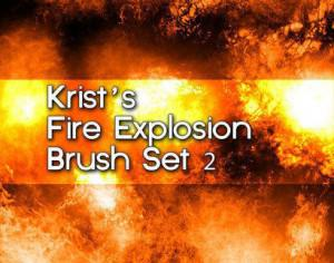 Krist's Fire Brush Set 2 Photoshop brush