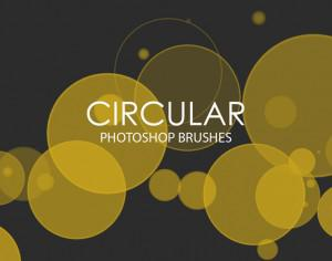 Free Circular Photoshop Brushes Photoshop brush