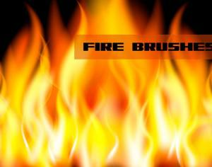 Fire/Flame Brushes Photoshop brush