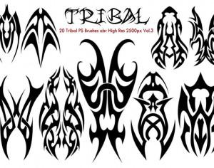 Tribal PS Brushes abr Photoshop brush
