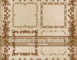 Free Decorative Brushes Photoshop brush