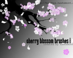 Cherry Blossom 1 Photoshop brush