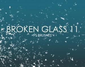 Free Broken Glass Photoshop Brushes 11 Photoshop brush