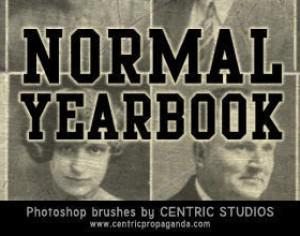 Normal Yearbook Photoshop brush
