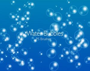 20 Water Bubbles PS Brushes abr.Vol.1 Photoshop brush