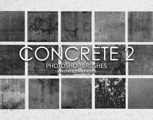 Free Concrete Photoshop Brushes 2 Photoshop brush