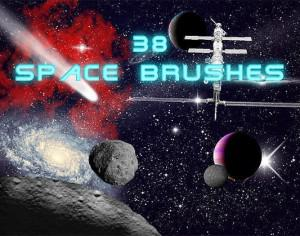 Space Brushes Collection Photoshop brush