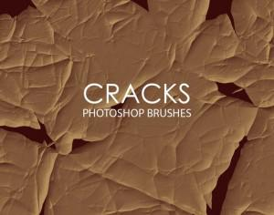 Free Abstract Cracks Photoshop Brushes Photoshop brush