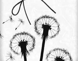 Dandelions Photoshop brush