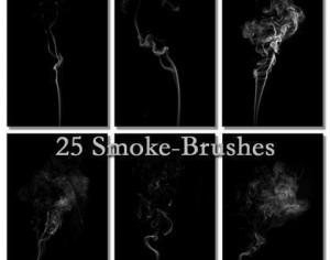 Smoke Brushes Series Photoshop brush