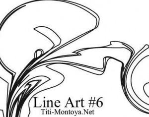 Line Art 6 Photoshop brush
