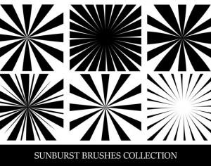 Sunbusrt Brush Collection Photoshop brush