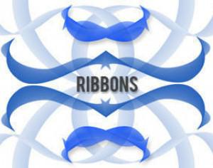 Ribbon Brushes Photoshop brush