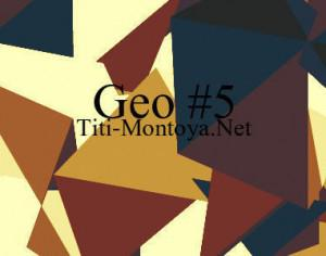 Geo 5 Photoshop brush