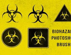 Biohazard Brushes Photoshop brush