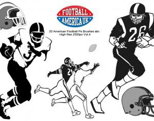 20  Football Ps Brushes abr.  vol 4 Photoshop brush