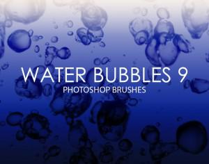 Free Water Bubbles Photoshop Brushes 9 Photoshop brush