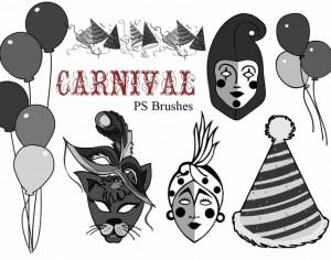 20 Carnival brushes vol.8 Preview Photoshop brush
