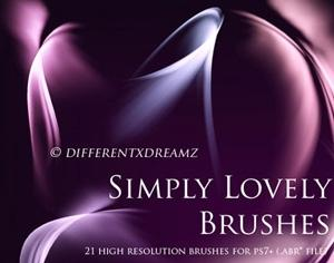 Simply Lovely Brushes Photoshop brush