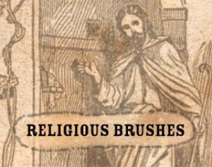 Religious Photoshop brush