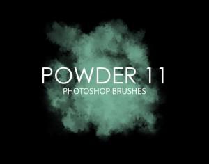 Free Powder Photoshop Brushes 11 Photoshop brush