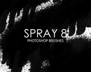 Free Spray Photoshop Brushes 8 Photoshop brush