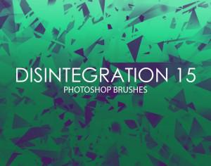 Free Disintegration Photoshop Brushes 15 Photoshop brush
