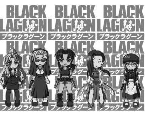 Black Lagoon Photoshop brush