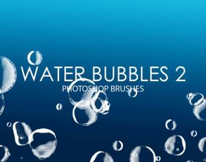 Free Water Bubbles Photoshop Brushes 2 Photoshop brush