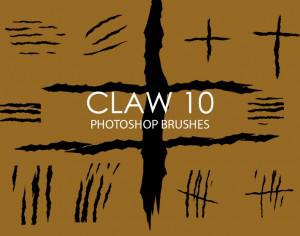Free Claw Photoshop Brushes 10 Photoshop brush