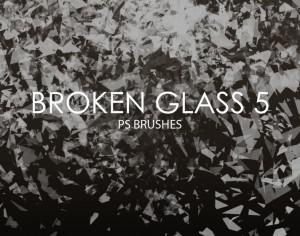Free Broken Glass Photoshop Brushes 5 Photoshop brush