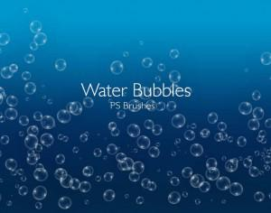 20 Water Bubbles PS Brushes abr.Vol.6 Photoshop brush