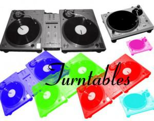 Turntables(Decks) Brushes. Photoshop brush