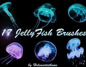 Jellyfish Brushes Photoshop brush