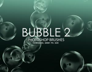 Free Bubble Photoshop Brushes 2 Photoshop brush