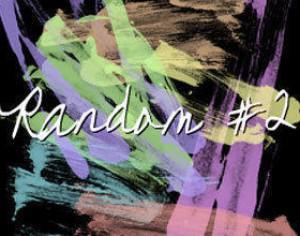 Random Paint strokes Photoshop brush