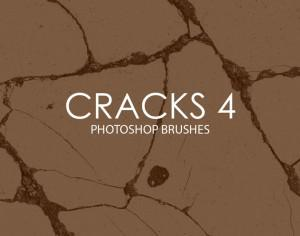 Free Cracks Photoshop Brushes 4 Photoshop brush