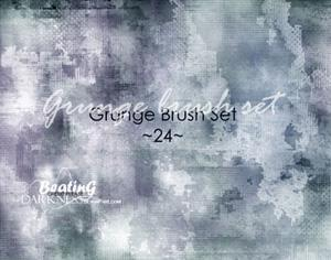 25 Grunge Brushes Photoshop brush