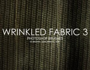 Free Wrinkled Fabric Photoshop Brushes 3 Photoshop brush