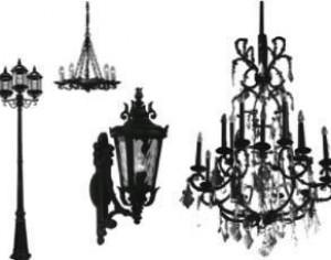 Lamps and Chandelier Brushes  Photoshop brush