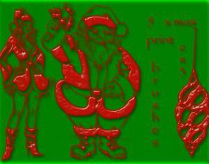 5 christmas brushes Photoshop brush