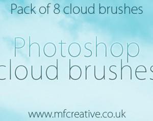 Photoshop Cloud Brushes Photoshop brush