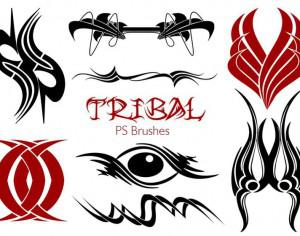 20 Tribal PS Brushes Vol.20 Photoshop brush