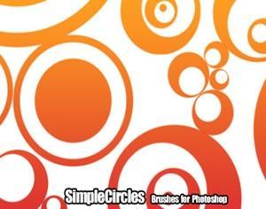 Simple Circles Photoshop brush