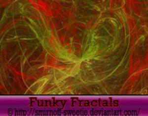 Funky Fractals Photoshop brush