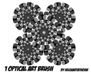 Optical Art Brush Photoshop brush