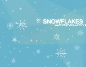 Snowflakes Brushes Photoshop brush