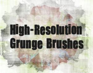 Detailed Grunge Brush Pack Photoshop brush